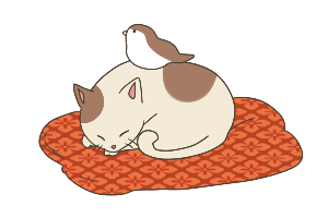 すずめと猫